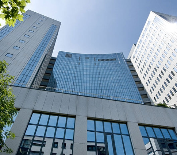 Agendis Business Center, Frankfurt City West, Theodor-Heuss-Allee